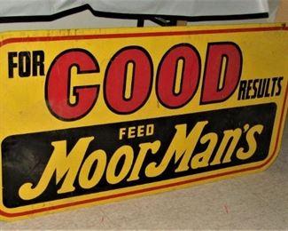 Moor Mans FEED Sign