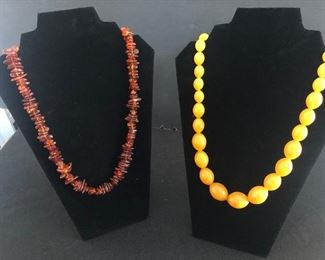 Genuine Baltic Amber Necklaces
