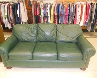 Beautiful leather furniture