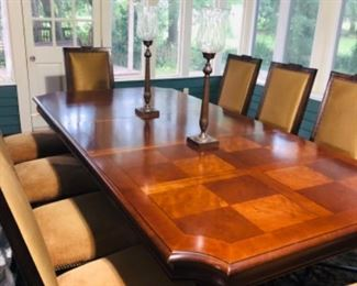 Dinning Room Table with 12 Chairs