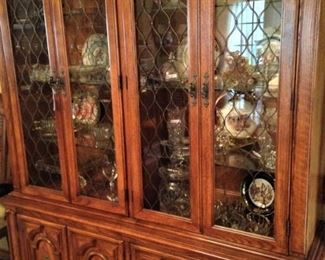 Large china cabinet - great storage and display areas