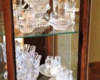Crystal and glass items