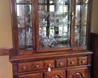 Another large china cabinet