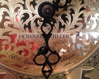 Howard Miller 58th Anniversary grandfather clock