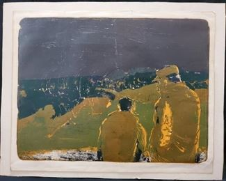 Jack Ogden Serigraph, 1960 - $250  ***Please note:  California sales tax will be charged on all purchases unless you have a valid California resale certificate on file with us.***