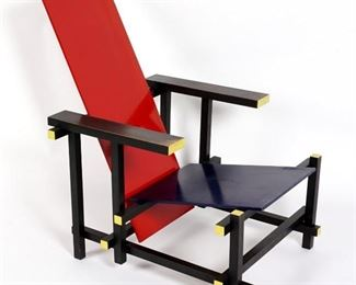 "Rietveld ""The Red-Blue Chair"""