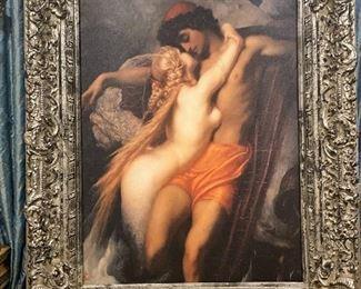 "Romantic painting 60""H"