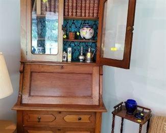 Presale $400            Bookcase drop front