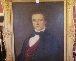"Jerome D. Fielding, Artist 12/25/1855 24"" x 30"""