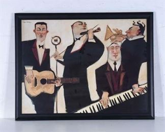 Large Print Clifford Bailey Jazz Musicians