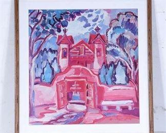 Inger Jirby Pink Spanish Church