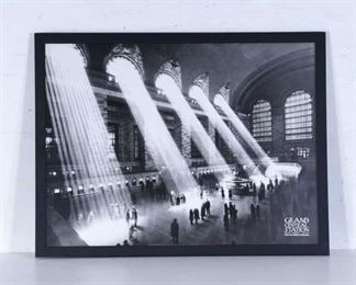 Print Grand Central Station In 1930 New York
