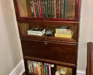 The Globe Wernicke Company barrister book case with Secretary