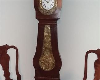 19th Century French Mobilier Tall Clock