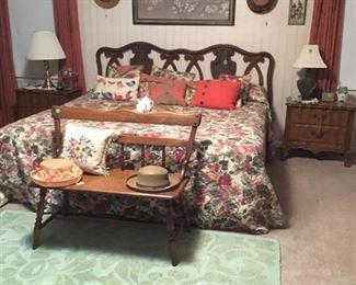 Full view of items in Master Bedroom.