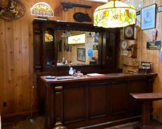 Vintage 1880s Saloon bar