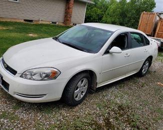 2007 Chevy Impala LT,  221,400 miles