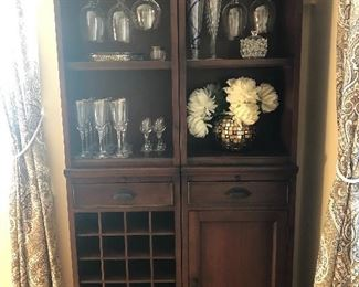 Wine wall bar units