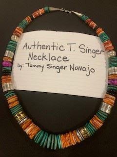 Tommy Singer Navajo Necklace