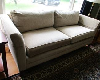 Stickley down filled sofa.