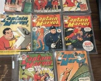 Early / Old Comics (Prices are not on plastic sleeves) - Marvel Family, Captain Marvel