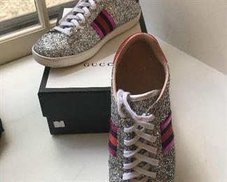 Authentic Gucci Tennis Shoes