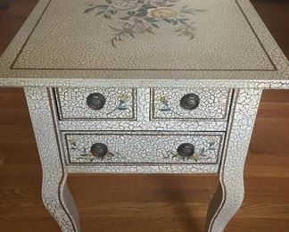 Small painted cabinet.