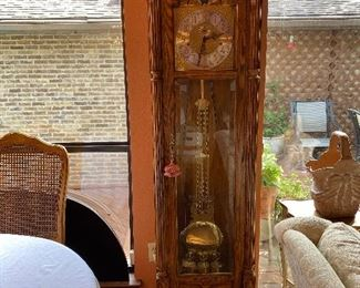 stunning Sligh  grandfather clock