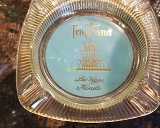 Rare Defunct Tropicana Hotel Las Vegas Ashtray-  $30