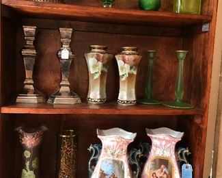 Vintage and Antique glassware and ceramics