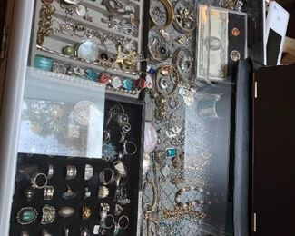 Jewelry case full