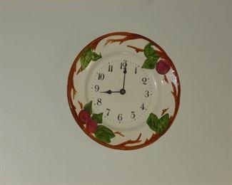 Franciscan Apple Clock