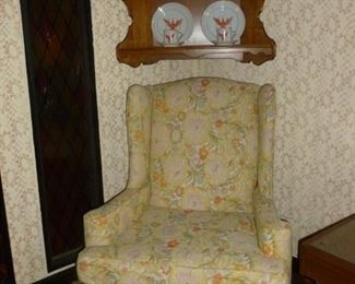 Wingback, one of a pair