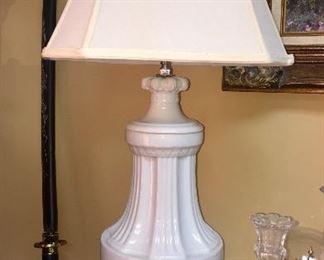 Vintage White Lamps
