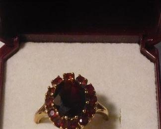 14 k Tanzanite Ring