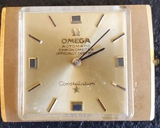 OMEGA CONSTELLATION WATCH.  NEEDS SOME TLC