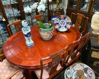 Dining Set $795. Comes with 8 chairs and two leaves