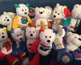 Assorted Limited Treasures State Quarters Bears