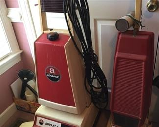 Advance CarpeTron 18 and Foretell Puritan Floor Cleaning Equipment