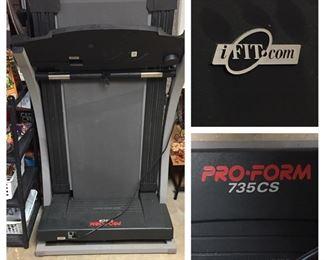 Pro-Form 735CS Treadmill