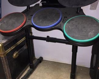 Nintendo Wii Drum Set