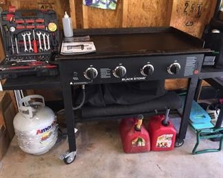 """Blackstone 36"""" Griddle Cooking Station Model #1554 with Cover"""