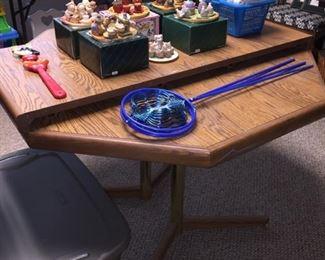 Table, Miniature Tea Sets, Yard Decor