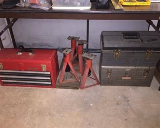 Tool Boxes, Jack Stands
