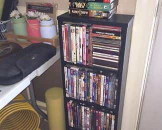 DVDs, VHS