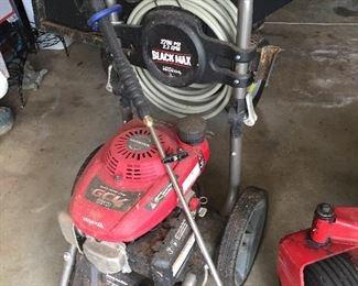 Honda Black Max Pressure Washer
