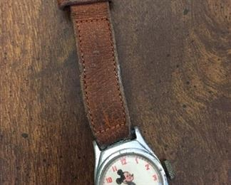 U.S. Time Mickey Mouse Watch