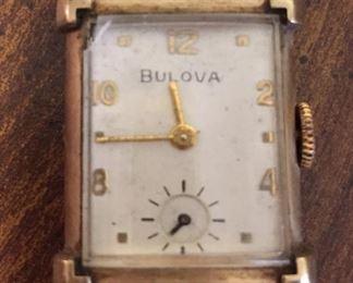 Bulova Mens Watch(Not Running)