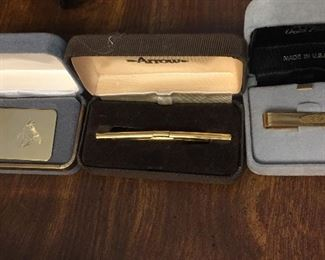 Ties Bars and Money Clip