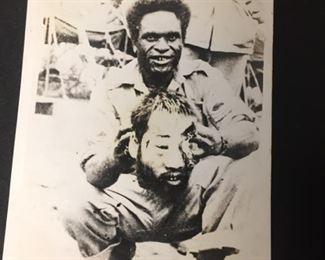 WW2 Era Headhunter with Japanese Soldier